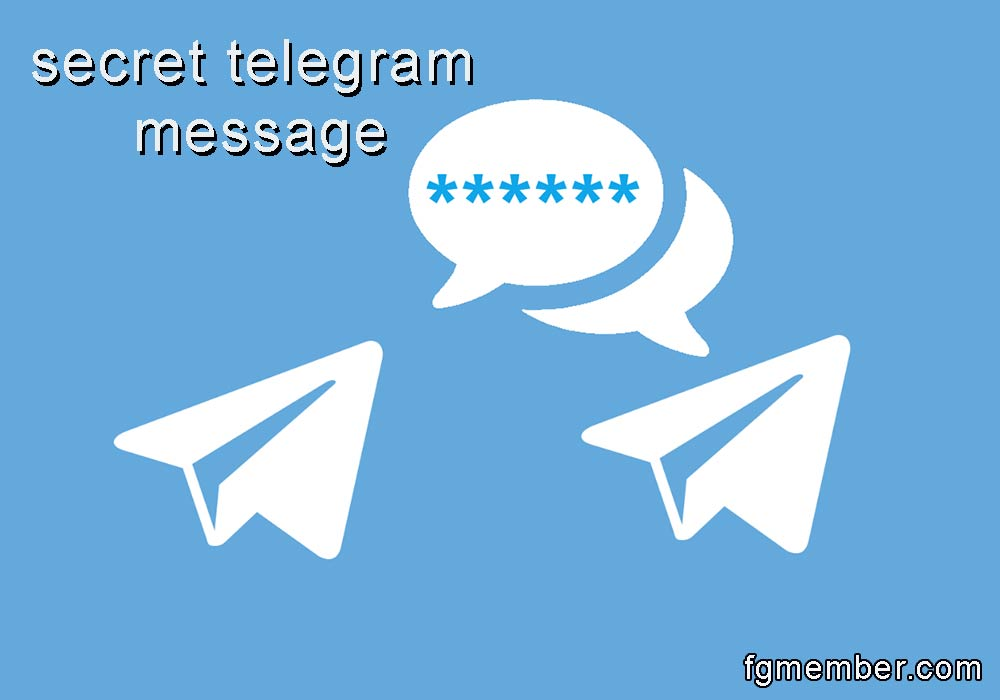 Secret telegram message