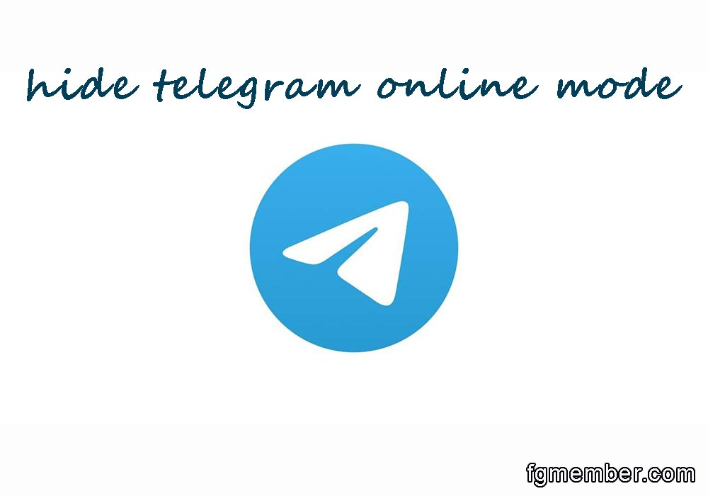 Hide Telegram Online Mode
