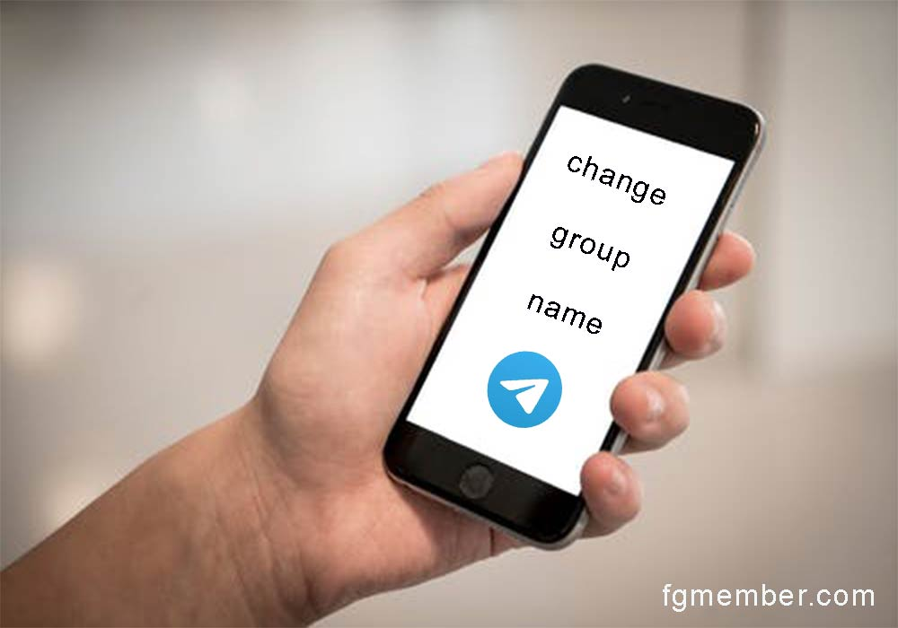 Learning to change the group name