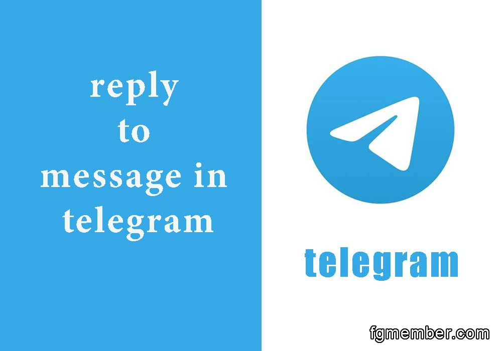 Reply to message in telegram