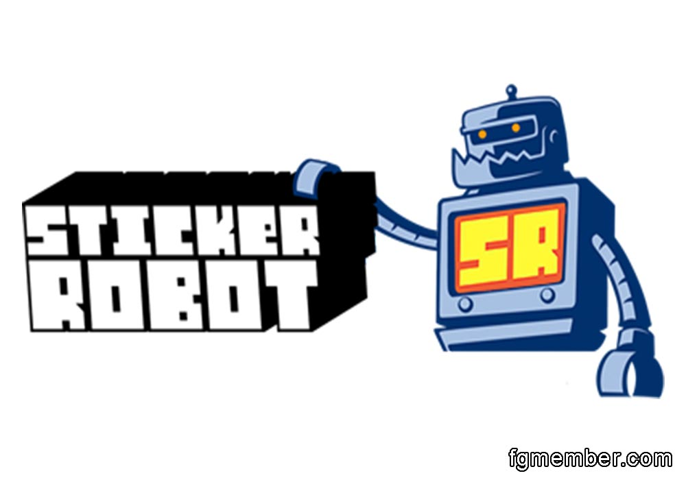 Making Sticker With Robot