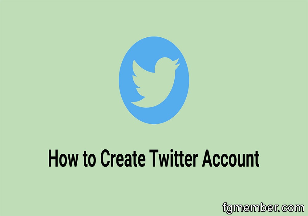 Create a Create a Twitter account