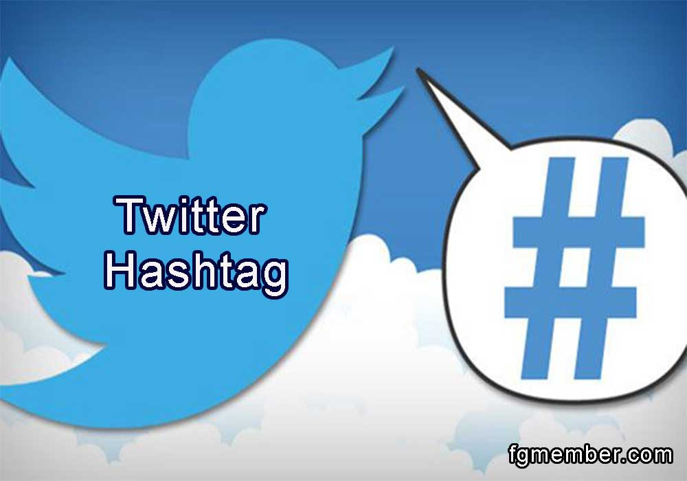 Hashtag on Twitter