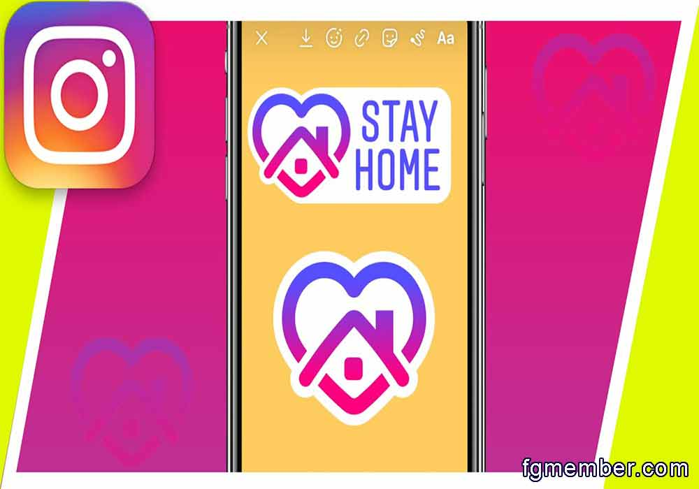 stay home Instagram
