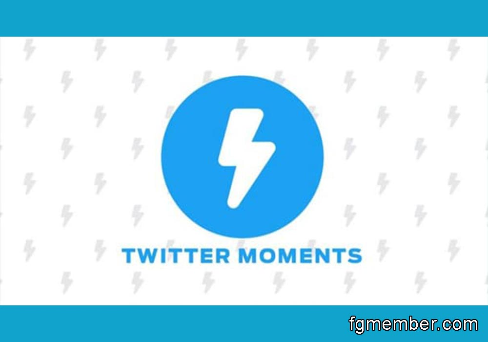 Create moments on Twitter
