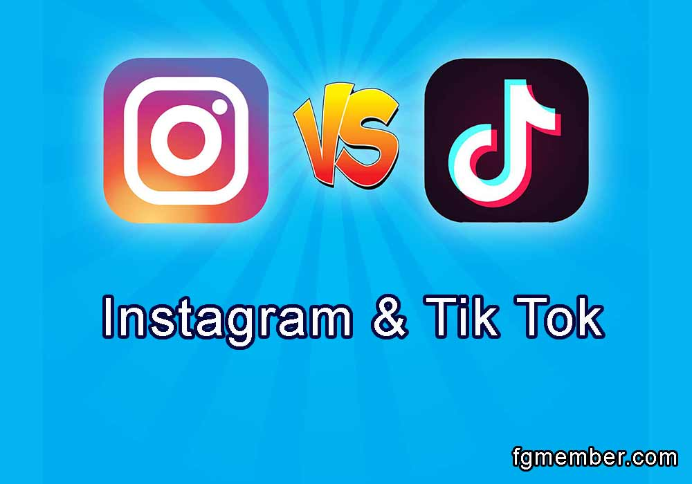 The difference between Tik Tok and Instagram